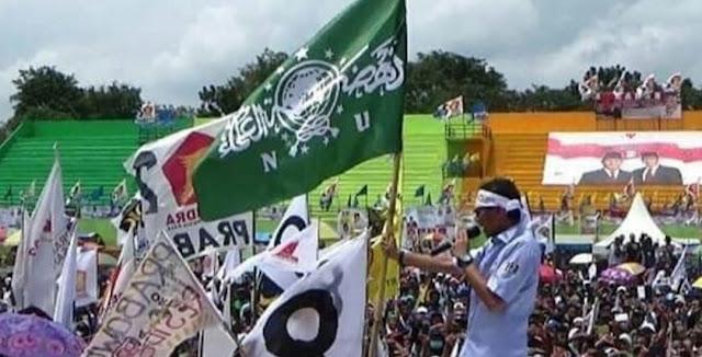 Mengaku Orang NU, Sandiaga Merasa Tak Bersalah Kibarkan Bendera NU untuk Kampanye