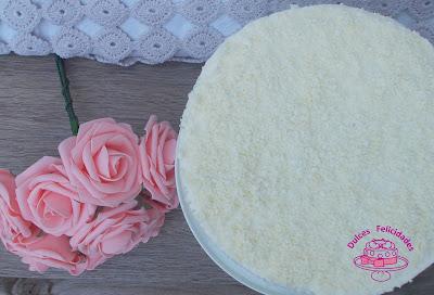 White cake (pastel blanco)
