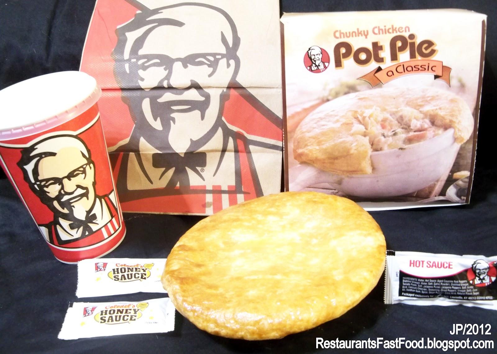 Kentucky Fried Chicken Meal: Restaurant Fast Food Menu McDonald's DQ BK Hamburger Pizza