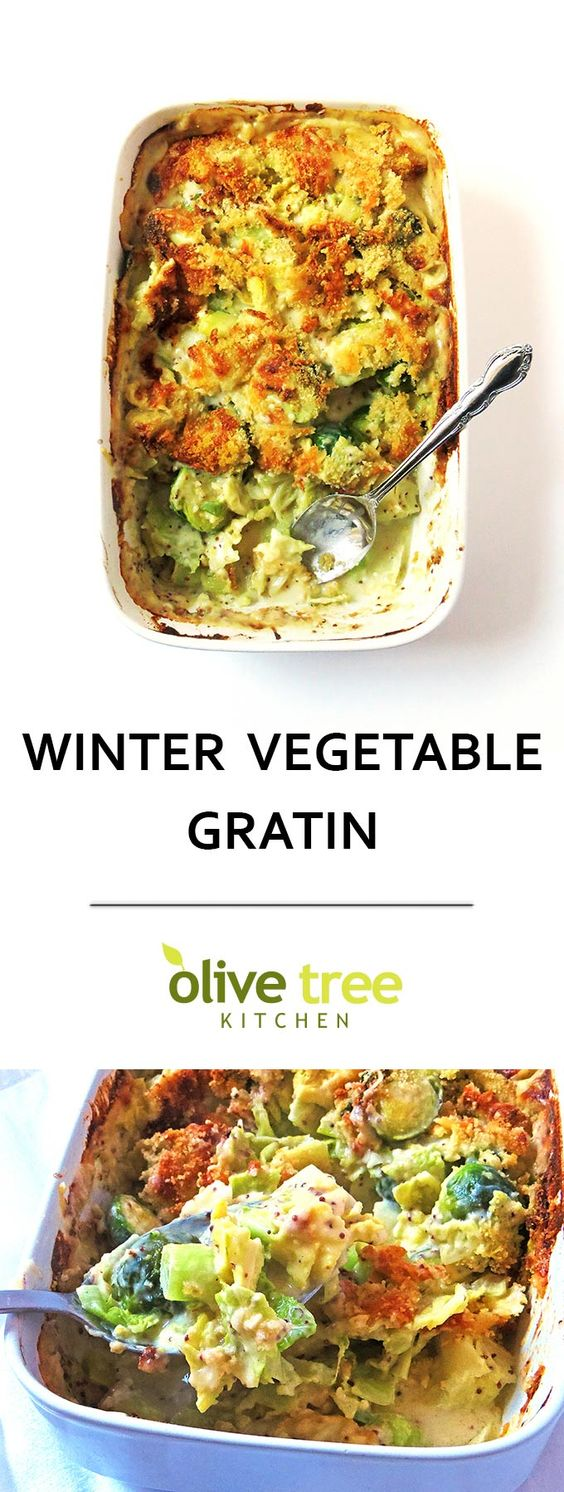 Winter Vegetable Gratin