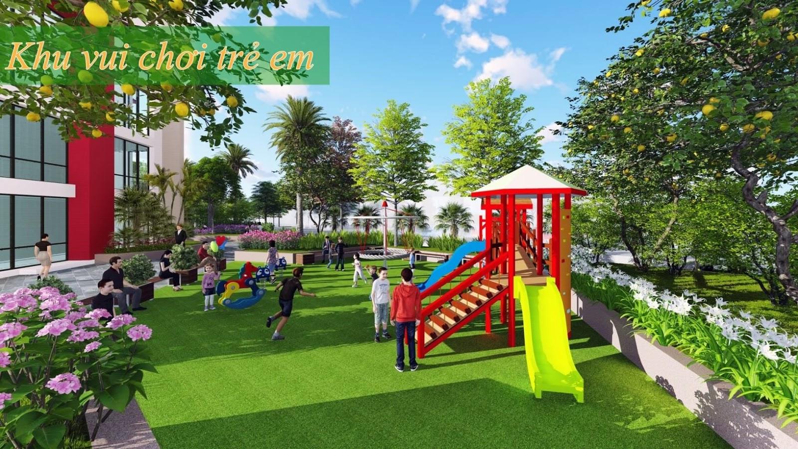Khu vui chơi trẻ em chung cư 360 Giải Phóng