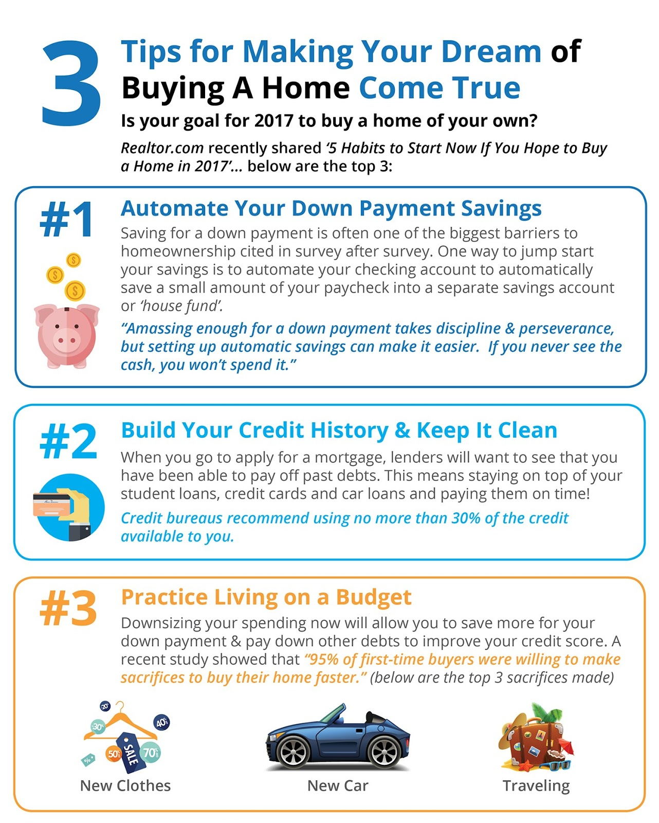 Tips for making your dream of buying a home come true in for Tips before buying a house