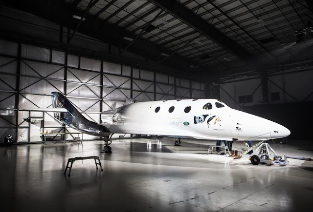 Virgin Galactic revealed an upgrade Spaceship Two
