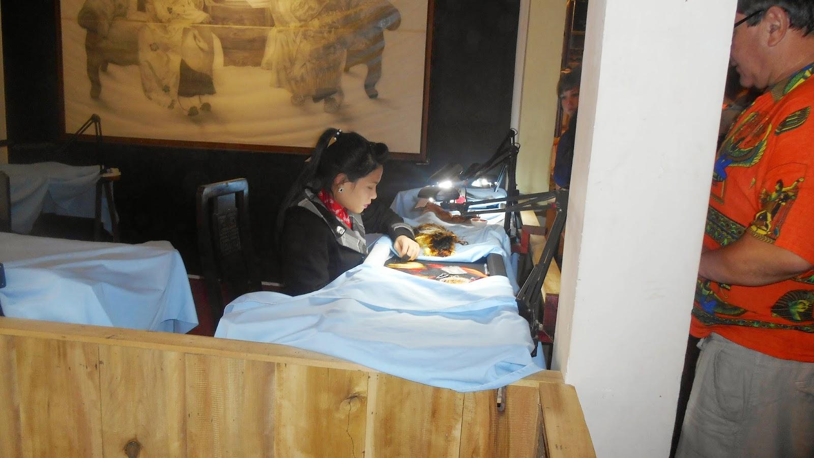 вышивальщица картин