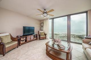 Perdido Towers Condo For Sale, Perdido Key FL Real Estate Unit 308 Living Room