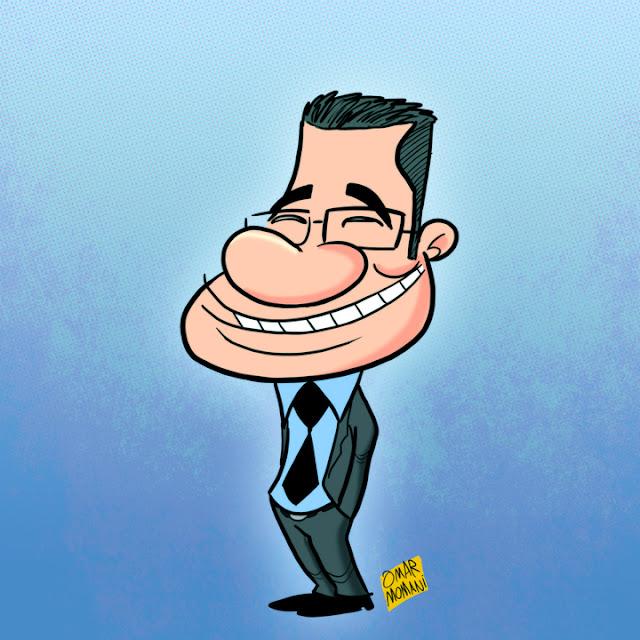 كاريكاتير مصطفى الاغا