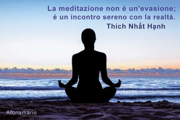 abbastanza Aforismario®: Meditazione - Frasi e citazioni meditative HU13