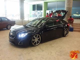 Chevrolet+Cruze+rebaixado+Suspensao a ar