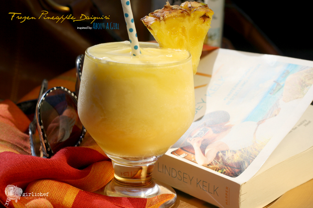 Frozen Pineapple Daiquiris