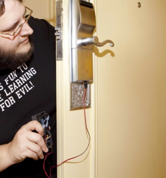 Onity key card locks security issue