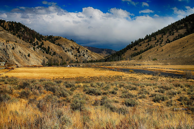 Salmon River Idaho geology field trip copyright RocDocTravel.com