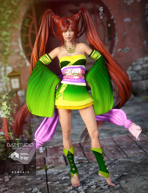 Jade Tiger for Genesis 3 Female