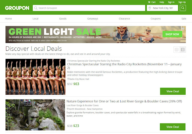 Find and Save: Groupon Things To Do