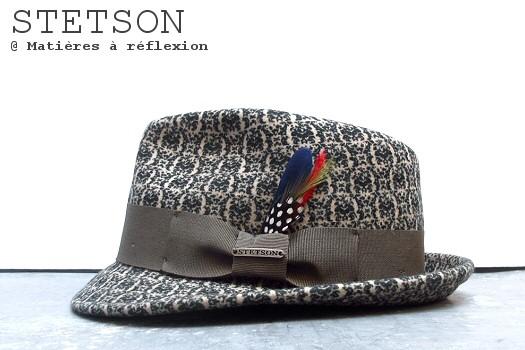 Chapeau feutre de laine Stetson