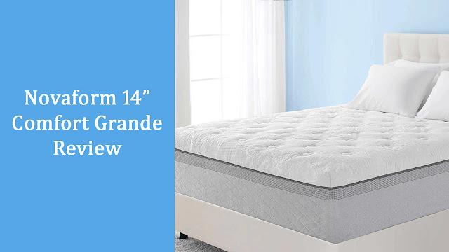 Novaform Comfort Grande 14 Inch Queen Size Memory Foam Mattress