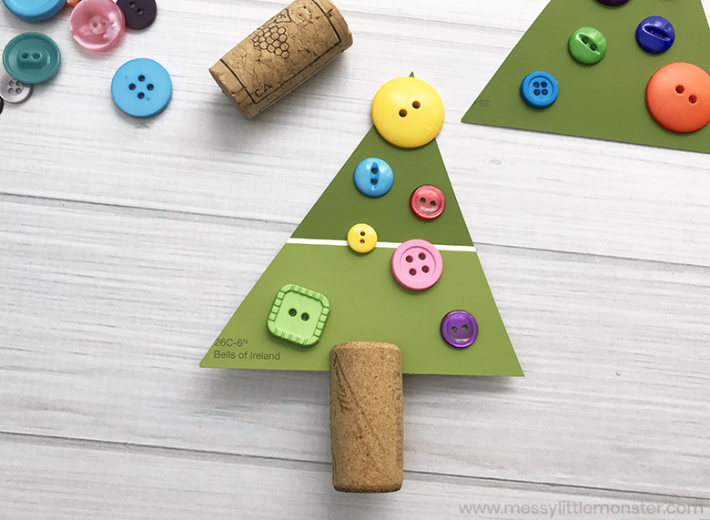 Christmas tree craft for preschoolers
