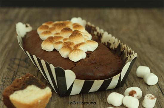 TASTE around: S'Mores Marmorkuchen mit Eierlikr