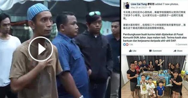Punca Sebenar Imam Capang Halau Orang dan Mengamuk di Bazar Ramdahan johor