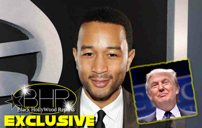 Singer John Legend And Donald Trump Get Into A Feud On Twitter
