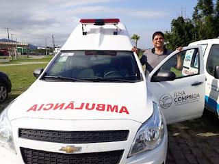 Atuação do vereador Fabiano resulta em aquisição de nova ambulância para o município