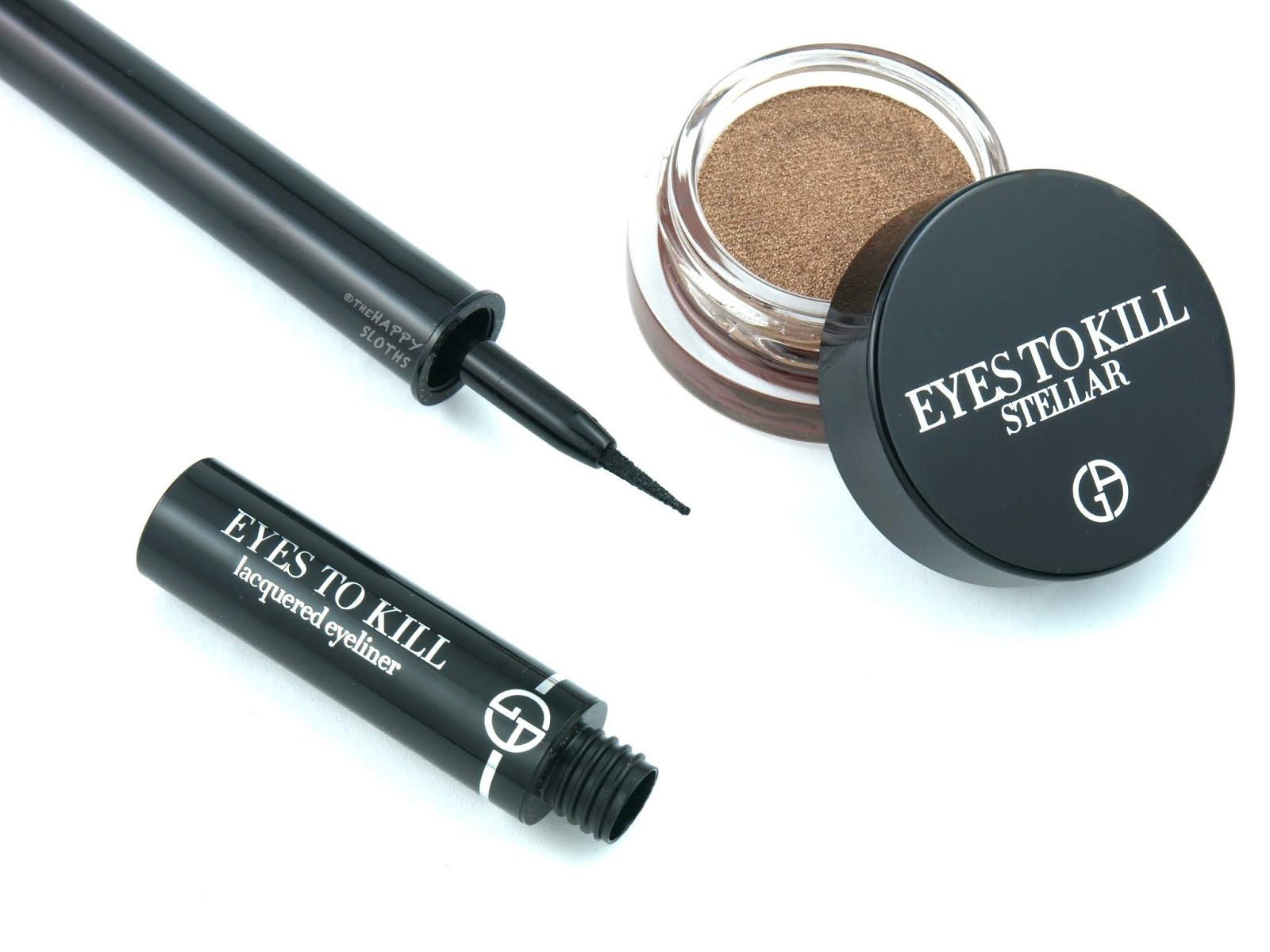 "Giorgio Armani Beauty | Eyes to Kill Lacquered Eyeliner in ""1 Onyx"": Review and Swatches"