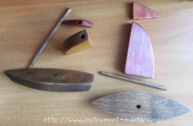разборная игрушка из дерева