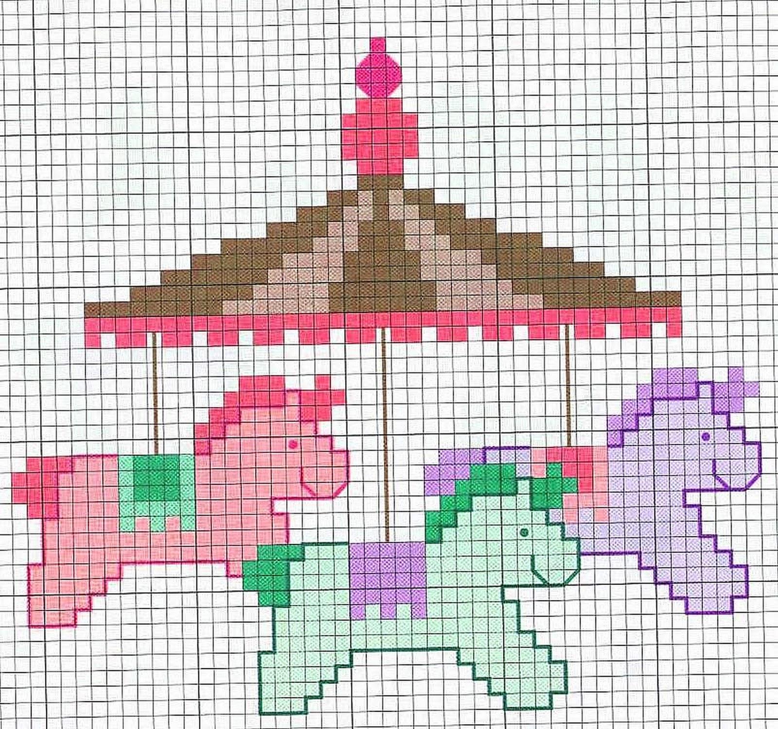 Schemi a punto croce per bambini e bambine for Immagini punto croce per bambini