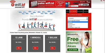 Cara Masuk Wifi ID Gratis Dengan Nusanet