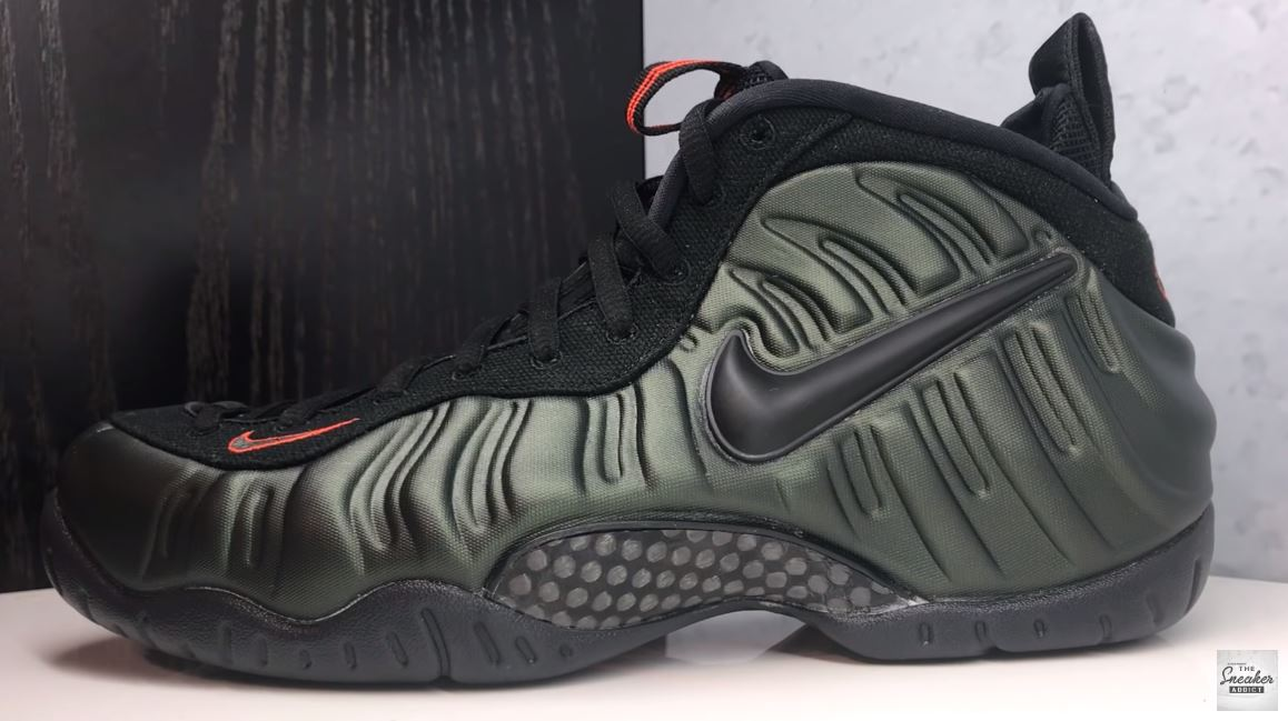 superior quality cfbdb bf33f THE SNEAKER ADDICT: Nike Air Foamposite Pro Sequoia/Orange ...