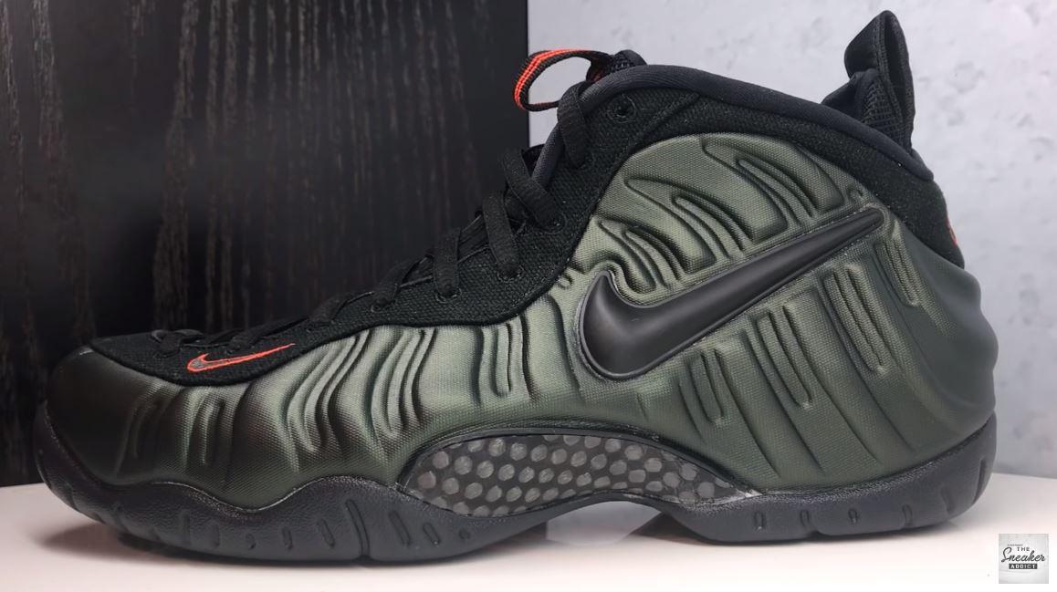 1ab274d6838e8 THE SNEAKER ADDICT  Nike Air Foamposite Pro Sequoia Orange Sneaker ...