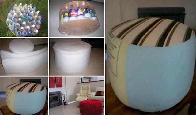 kerajinan tangan dari botol aqua bekas dan cara pembuatannya