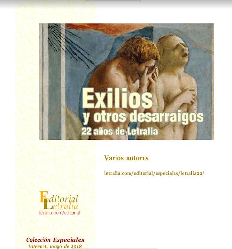 Descarga gratuitamente la edición de Letraria, libro sobre el exilio y otros desarraigos