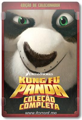 Kung Fu Panda Coleção Completa