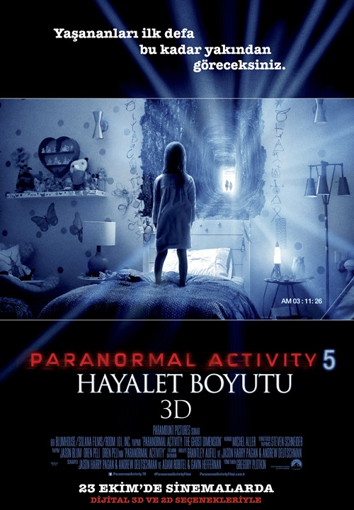 Paranormal Activity 5 film indir