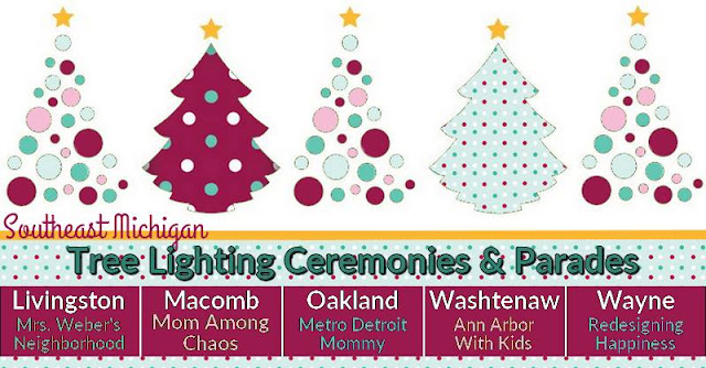 Tree Lighting, Metro Detroit, Southeast, Michigan, things to do, Christmas