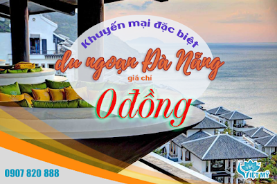 Du ngoạn Đà Nẵng cùng Vietjet Air - vé chỉ 0 đồng