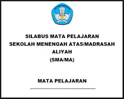 Silabus Antropologi SMA/MA/SMK Kurikulum 2013 Revisi 2017