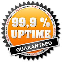 setidaknya server anda harus memberi garansi 99,9%