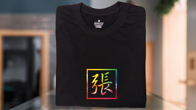 SBX03-P6FC-CTS Chinese Name T Shirt Design Custom T Shirt Printing Chinese Name T Shirts Chinese Name Tee