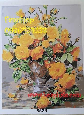 Tranh son dau so hoa tai Hang Bot