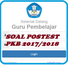 Soal Postest PKB SMA 2017/2018