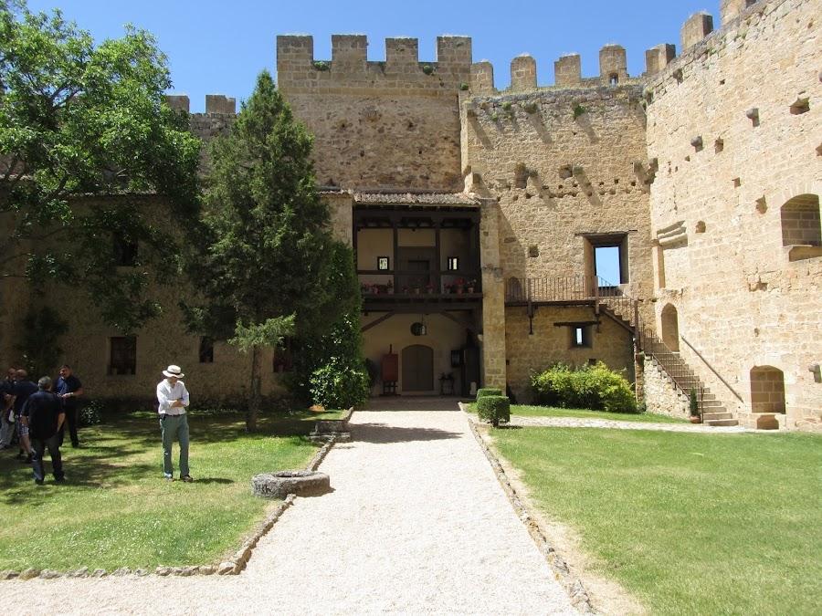 Interior del Castillo de Pedraza