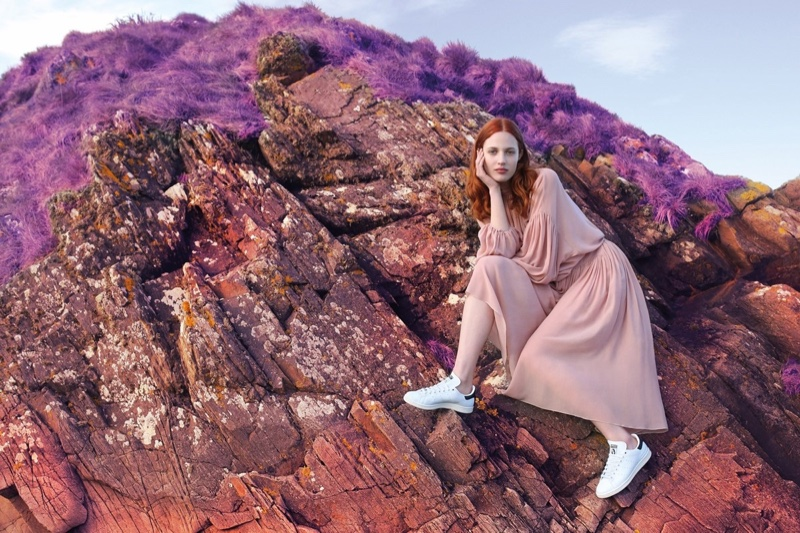 Julia Banas stars in Stella McCartney x adidas Stan Smith sneaker campaign