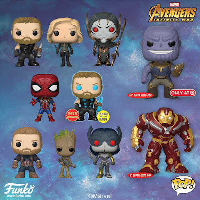 Avengers: Infinity War Pop! Vinyl Figures by Funko x Marvel