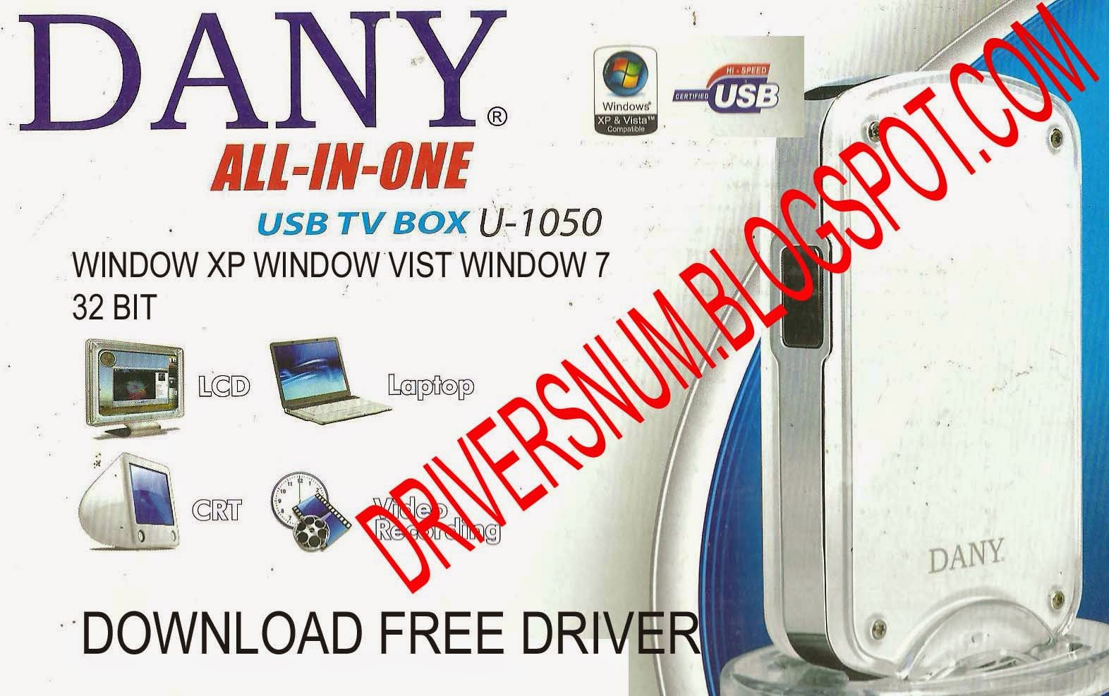 How to download dany tv tuner card driver youtube.