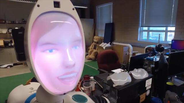 "Crean una robot ""empática"" para cuidar a pacientes con Alzheimer"