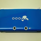Cover front with 3DS XL