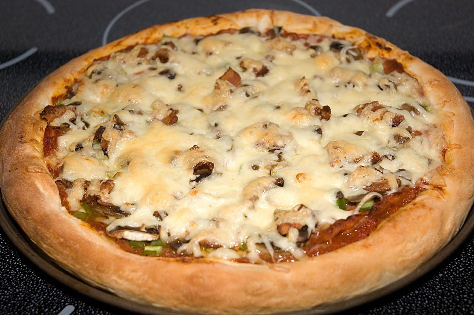 Pâte à pizza au robot boulanger de B900sc | Doumdoum se régale