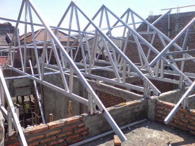 spesifikasi baja ringan untuk atap rangka dan kanopi jawa tengah