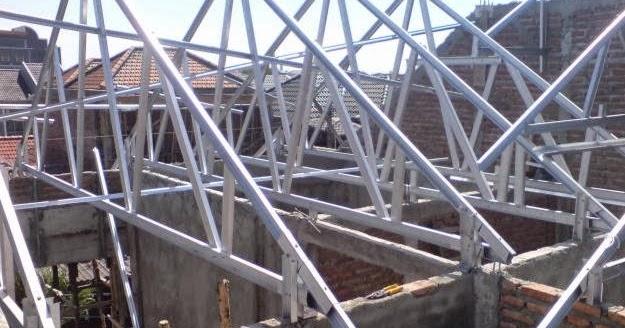 Dimensi Truss Baja Ringan Spesifikasi Rangka Atap Semarang ~ ...